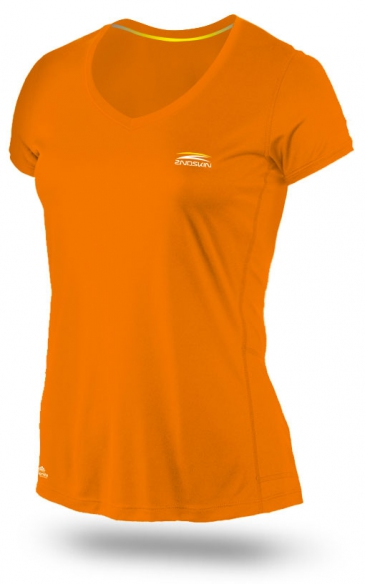 2ndskin Logo Tees Orange (Female)